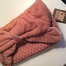 Juicy Couture Blush Velvet Bow Purse- New With Tags  Photo