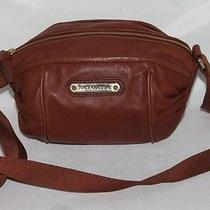 Juicy Couture Brown Lamb Leather  Cross Body Bag Photo