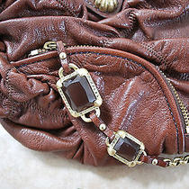 Juicy Couture Brown Leather Purse Photo