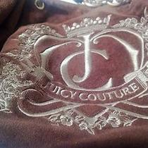 Juicy Couture Brown Velour Hobo Purse Photo