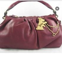 Juicy Couture Burgundy Leather Handbag Photo