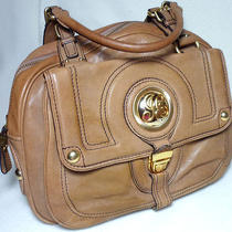 Juicy Couture Camel  Leather   Handbag Purse  Photo