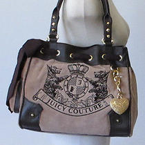 Juicy Couture Camel Velour Scottie Dog Daydreamer Handbag Photo