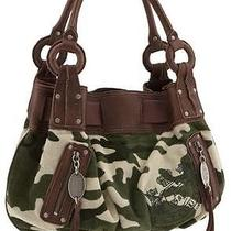Juicy Couture Camo Hobo Bag Photo