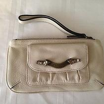 Juicy Couture Clutch Off White Leather Photo