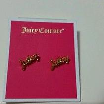 Juicy Couture Earring Orig.  Price 24.99 Photo