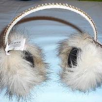 Juicy Couture Fur & Rhinestone Ear Muffs Photo