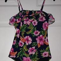 Juicy Couture Girls Bathing Suit Size 14 Like New Photo