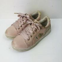 Juicy Couture Girls Blush & Gold Antioch Sneaker Kids Size 4m Shoes Photo