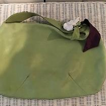 Juicy Couture Green Leather Large Hobo Bag  Dust Bag Photo