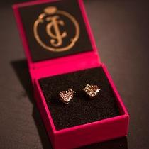 Juicy Couture Heart Pave Earing Photo