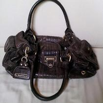 Juicy Couture Hobo Bag Fieno Brown Glazed Cowhide Leather New Photo