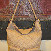 Juicy Couture Hobo Quilted Boho Chic Hobo Z Princess Style Photo