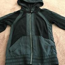 Juicy Couture Ladies Sz S Black Terry Velour Tracksuit Capris Authentic Original Photo