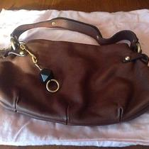 Juicy Couture Leather Hobo Bag Brown Photo