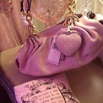 Juicy Couture Leather Hobo Purse Nwt Retails 265  Photo
