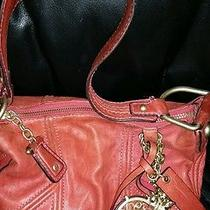 Juicy Couture  Leather Satchel With Charms Photo