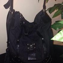 Juicy Couture Lock It Black Large Hobo Handbag  Photo