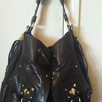 Juicy Couture Lolita Lock-Black Leathermsrp428 Photo