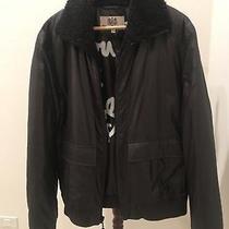 Juicy Couture Men's Black Bomber Jacket Mint Size Xl Photo