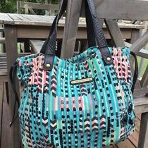 Juicy Couture Multi-Color Sequined 'Sweet Owl' Draw String Lg Hobo Bucket Bag Photo