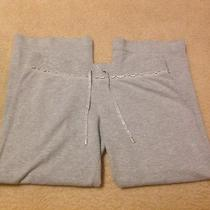 Juicy Couture Pants Sweats Size Large  Gray Metallic Photo