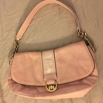 Juicy Couture Pink Blush Leather Clutch Scottish Terrier Purse Photo