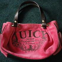 Juicy Couture Pink Handbag Purse Photo