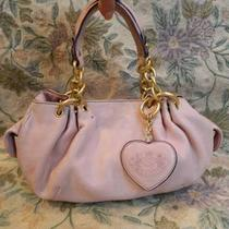 Juicy Couture Pink Leather Hobo Bag Photo
