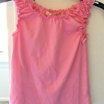 Juicy Couture Pink Ruffle Shirt Girls Size 8   Adorable Photo