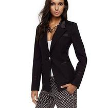 Juicy Couture Pitch Black Addison Jacket Blazer New 248 sz.0 Photo