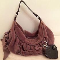 Juicy Couture Plum Veloor Bag Photo