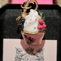 Juicy Couture Rare Ice Cream Charm New in Box  Coa Perfect Mother Day Present  Photo