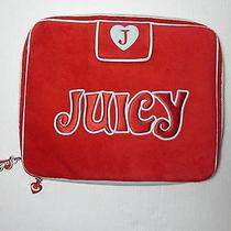 Juicy Couture Red Logo Laptop Case Photo