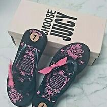 Juicy Couture Slides -  Size 37 (7) - New Photo