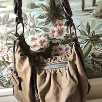 Juicy Couture Softball Hobo Lamb Leather Bag Photo