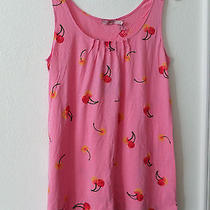 Juicy Couture Sweet Pea Women Tank Top  Pink Cherry  Photo