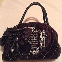Juicy Couture Velvet Bag Photo