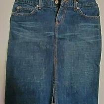 Juicy Couture Women Blue Denim Skirt Size M From Bloomingdales Photo