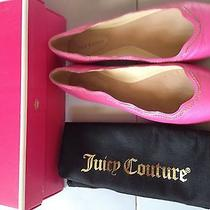 Juicy Couture Women's Jill Flats Shoes Pink Size 8 198 Photo