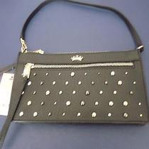 Juicy Couture Womens Clutch Audrina Short Shoulder Bag Purse Studs Wristlet Nwt  Photo