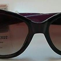 Juicy Couture Xoxo Rectangular Sunglasses Black/purple Photo