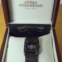 Jules Jurgensen Apropos Ladies Watch in Box Excellent Condition See Pictures Photo
