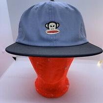 Julius Monkey Face Paul Frank Black Baseball Hat Cap Fitted New With Tags Photo