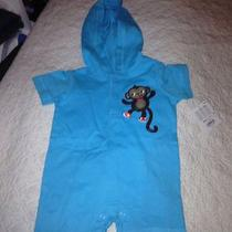 Jumping Beans Infant Size 3 Months Turquise One Piece Infant Outfit Photo