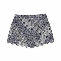 June & Hudson Women Blue Shorts M Photo