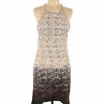 June & Hudson Women Brown Casual Dress L Photo