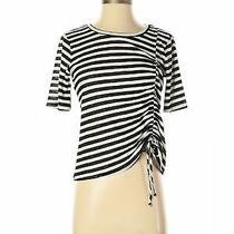 June & Hudson Women Gray Short Sleeve Top S Photo