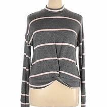 June & Hudson Women Gray Sweatshirt Xl Photo