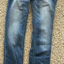 Junior Express Skinny Blue Jeans - Size 6 Regular Photo